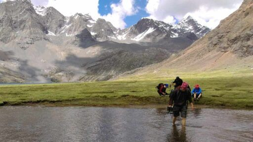 montañismo en lima trekking alta montaña peru