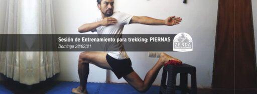 entrenamiento piernas trekking preparación física zenda escuela montañismo
