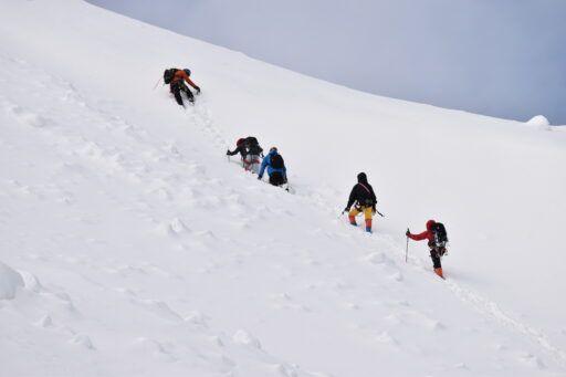 alta montaña nieve curso lima peru