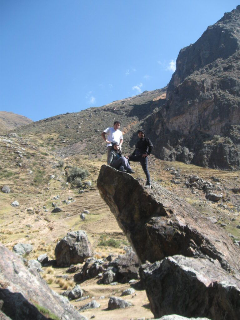 laguna rapagna trekking zenda escuela montañismo